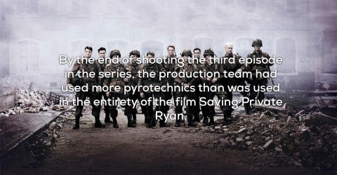 Facts about the HBO miniseries Band of Brothers (21 Photos)