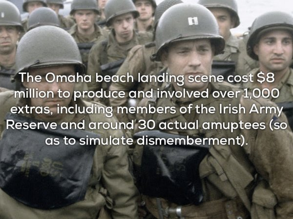 Interesting facts and trivia about Saving Private Ryan (17 Photos)