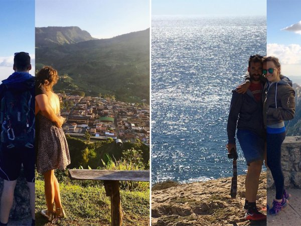 Awesome couple travel seperately but Instagram together (23 Photos)