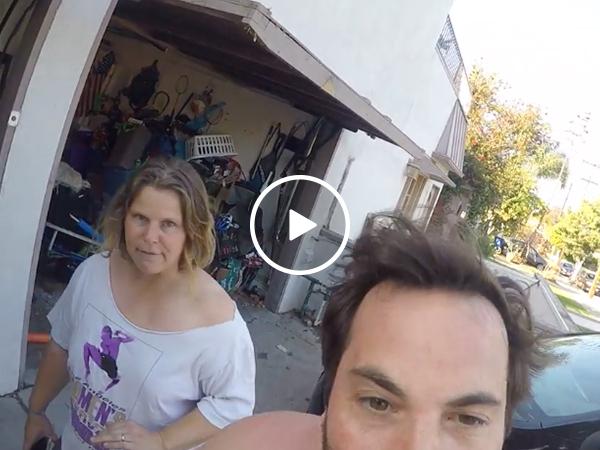 Infuriating neighbors from Hell go batshit insane (Video)