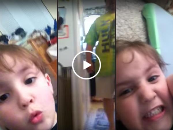 Kid breaks dad's iPad