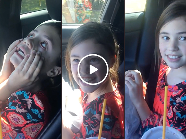 Little girl flirts for the first time, fails miserably (Video)