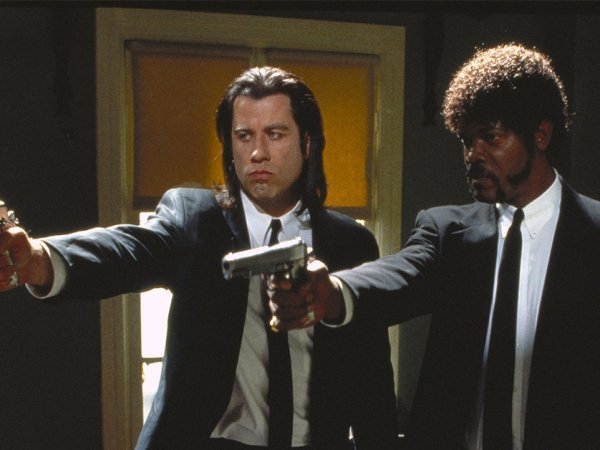 Some facts about the film classic Pulp Fiction (20 Photos)