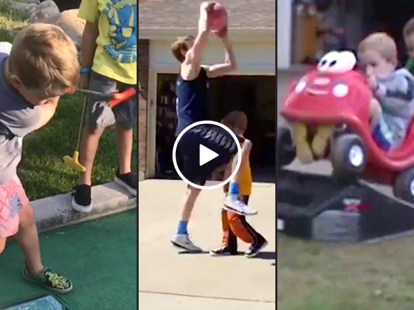 The joys of have a brother: A fail compilation (Video)