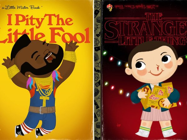 Artist imagines pop culture icons as Little Golden Books (26 Photos)