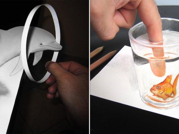 Artist Alessandro Diddi creates amazing 3D pencil drawings (25 Photos)