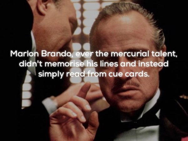 Some interesting facts about the The Godfather (25 Photos)