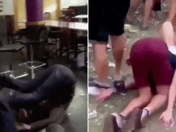 Drunk people doing stupid things (16 GIFs)