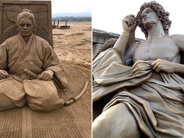 Toshihiko Hosaka's incredible sand sculptures (23 Photos)