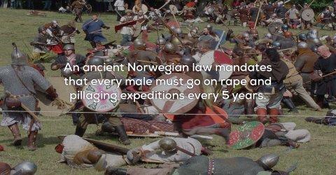 A collection of strange European laws (25 Photos)