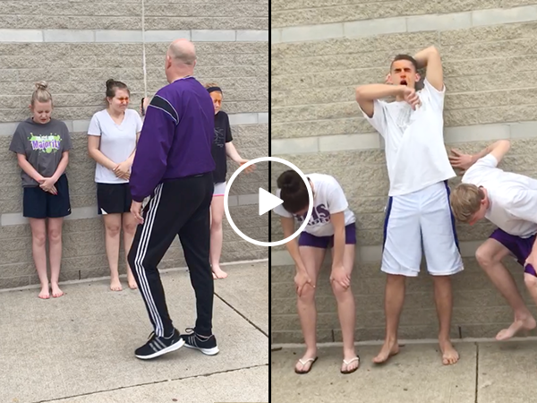 High school students volunteer to get pepper sprayed (Video)