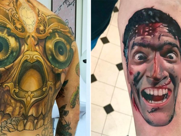 An awesome collection of tattoos from amazing skin artists (25 Photos)