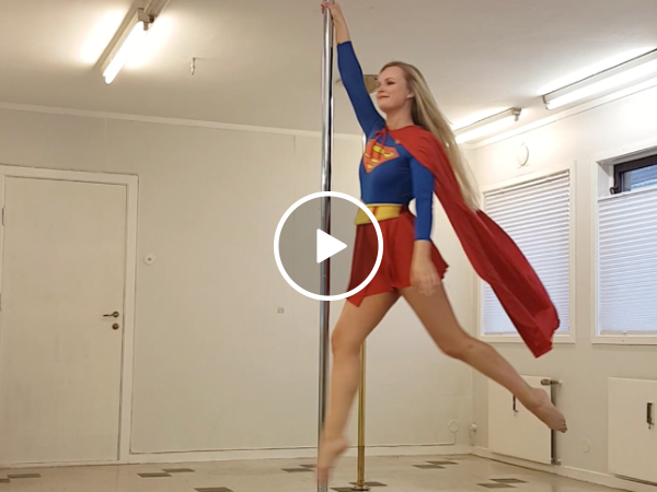 Even superheroes need to made a little extra cash on the side (Video)
