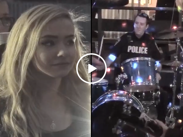 Cops called to stop party end up jamming and give inspirational speech