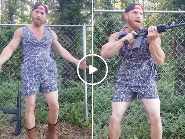 Redneck gets a male romper (Video)