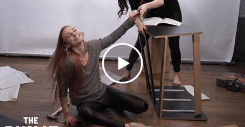 We Drank Four Loko and Tried to Build IKEA Furniture (Video)