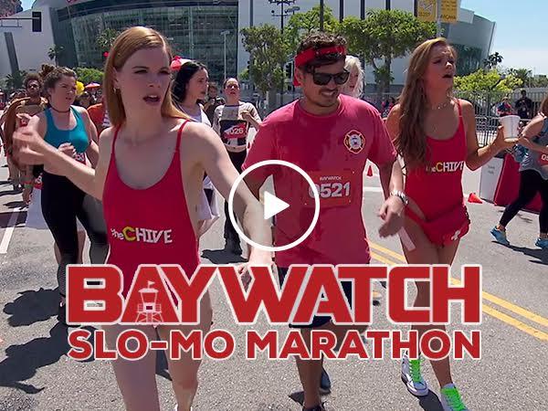 Experience the beauty of the Baywatch Slo-Mo Marathon