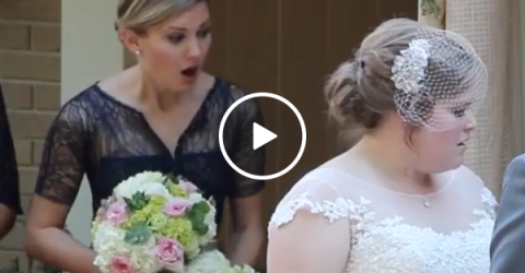 Wedding minister pukes during wedding vows (Video)