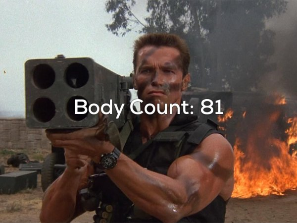 Movie characters with the highest body count (26 Photos)