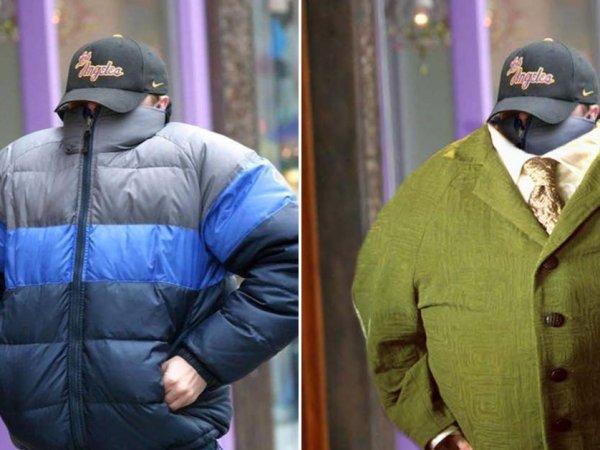 Leonardo DiCaprio in a coat gets the Photoshop treatment (23 Photos)