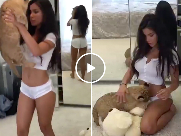 Cute girl reenacts scene from 'The Lion King' (Video)
