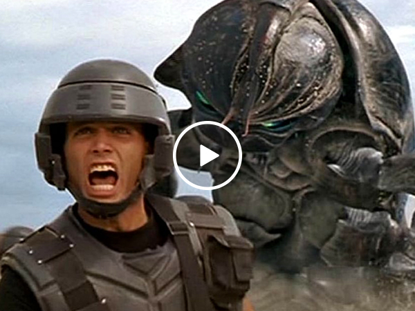 Fan recreates 'Starship Troopers' as a modern trailer (Video)