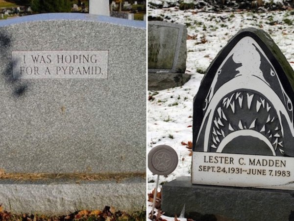 Tombstones with a sense of humor (21 Photos)