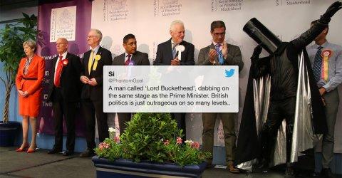 Lord Buckethead is a very strange UK politician (13 Photos)