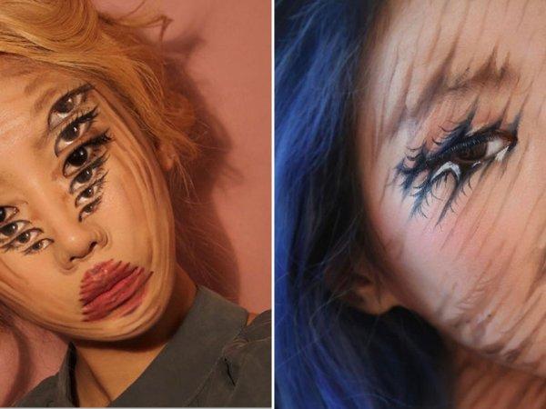 Mind-bending makeup from Dain Yoon (26 Photos)