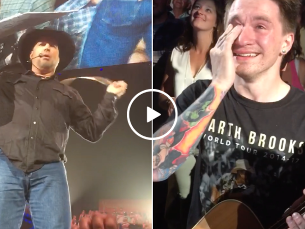 Garth Brooks solidifies his legendary status with incredible gesture