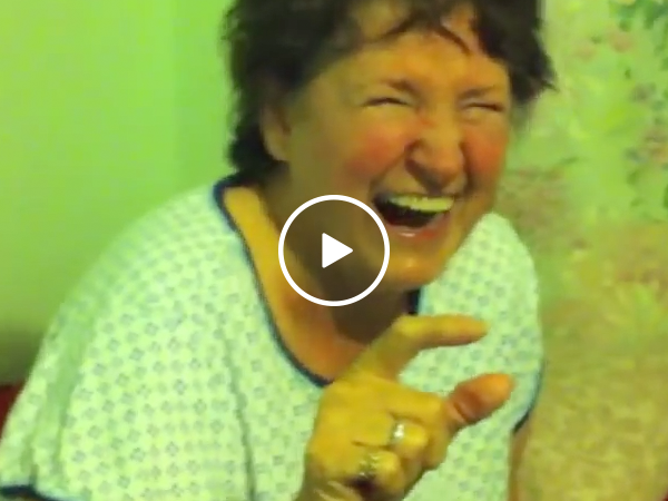 Grandma got into the pot cookies and it's hilarious! (Video)