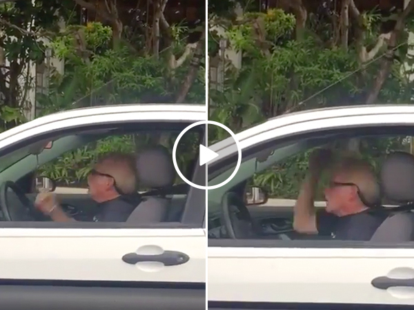 This old dude rocking the f*$& out to Metallica is what your Tuesday needs (Video)