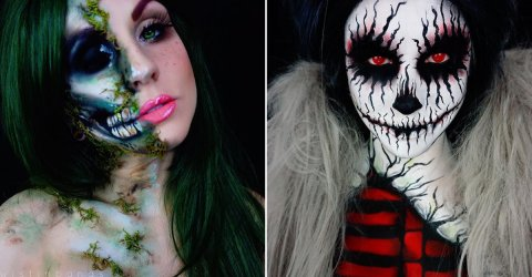 Artist creates incredible body paint characters (28 Photos)