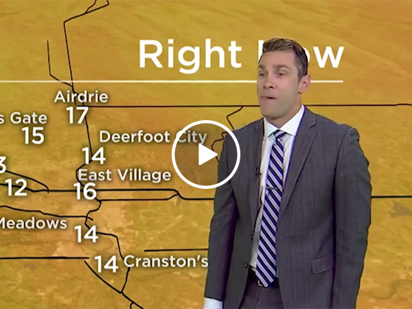 Weatherman confuses a sexual reference