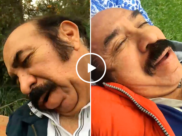 Wife records husband's snoring for 4 years, makes a special song out of them (Video)