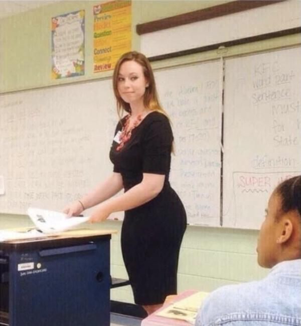 I'm hot for teacher (38 sexy photos)
