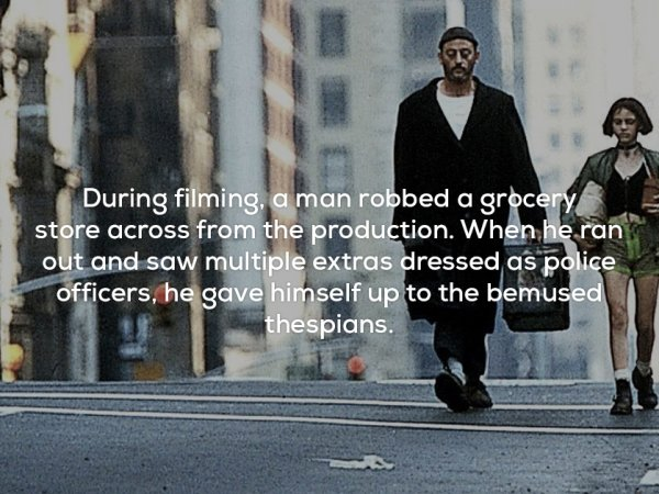 Facts about the film Léon: The Professional (17 Photos)