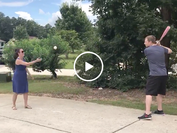 Guy messes up his gender reveal