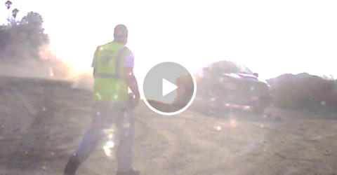 Highway road rage almost turns deadly (Video)