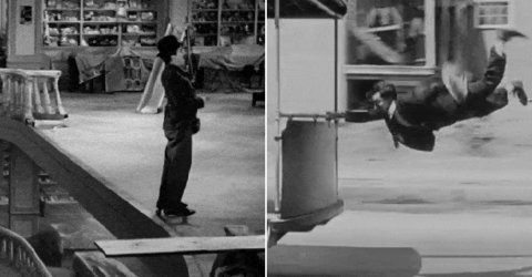 Awesome silent movies GIFs (15 GIFs)