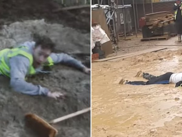 Nothing like some construction site pranks (15 GIFs)