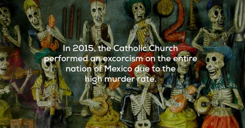A collection of weird and creepy facts (23 Photos)