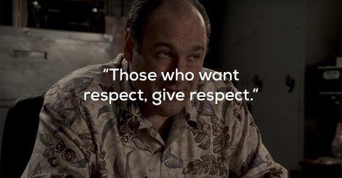 Quotes from the great TV character Tony Soprano (16 Photos)
