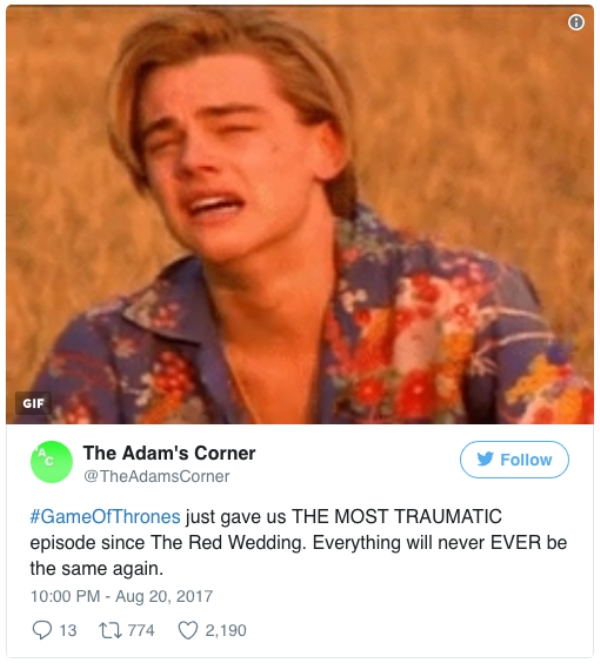 got game of thrones reactions season 7 episode 6 funny memes tweets 28 Winter is here, and a blizzard of reactions came with it (38 Photos)