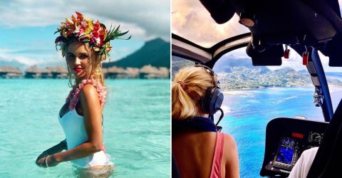 Madeleine is the pilot of my dreams (24 Photos)