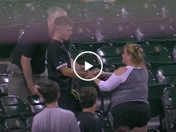 Woman steals foul ball from kid