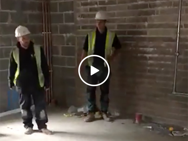 A funny construction prank