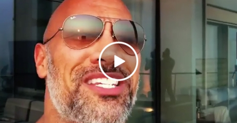 The Rock shares the time he got cut by the CFL