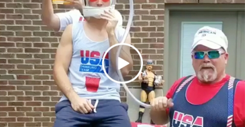 The 'Trust Chug' should be the standard in determining your friends (Video)