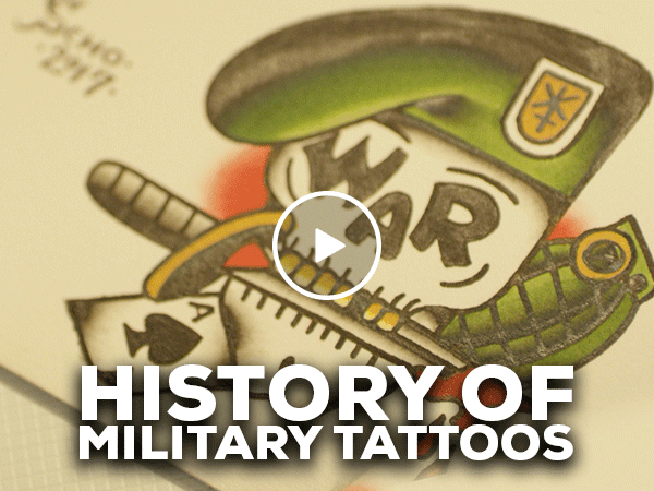 Colors of our country: The history of military tattoos (Video)